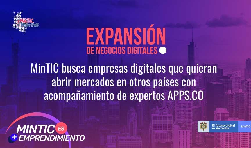 EXPANSIÓN DE NEGOCIOS DIGITALES