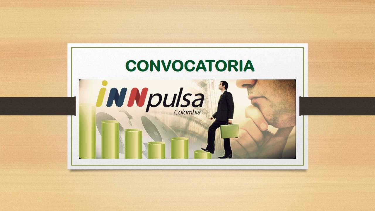INNPULSA TEC 2020 ENTIDADES DE SOPORTE AL ECOSISTEMA DE INNOVACIÓN